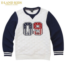 Children's sweatshirt E land kids ekmw68906k