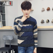 Student trend of the Korean version of the hedge t slim youth sweaters