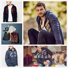 Full Zip Hooded Sweatshirt Abercrombie &