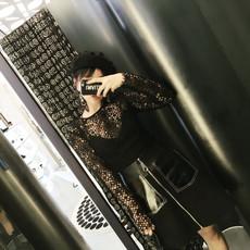Блузка TKSTYLE See-through Top
