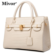 Miville bought 2014 new fashion fashionista crocodile Tote Bag Crossbody Bag