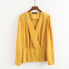 V-neck autumn loose and versatile short coat small suit