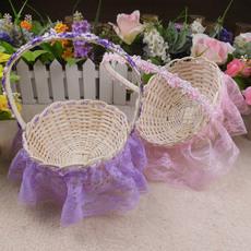 Свадебная корзина под цветы Mega fashion