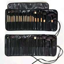 24 sets of cosmetic brushes package by parcel post. Log black brushes complete set of novice cosmetic Toolkits