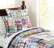 Special pure cotton Madras patchwork hand quilted quilt thin quilt thick sheets bed cover boy