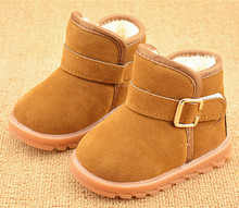 Children's shoes 1 to 6-year-old girls' 2 little boys' 3 winter snow boots 4 girls' 5 boys' short cotton boots