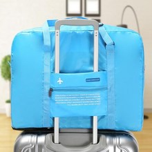 Portable Travel Bag Women's Out-of-the-way Luggage Suitcase Pull-on Bag Travel Foldable Waterproof Clothing Receiving Bag