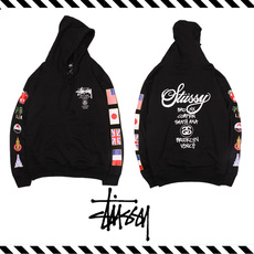 Толстовка Other Stussy WT Flags Hoodie