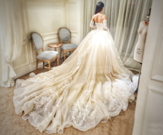 Wedding dress zsm056 2016