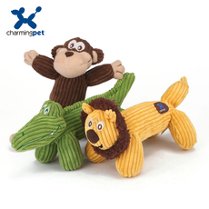 Игрушка со звуком Charmingpet corduoy
