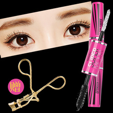 Thailand Mascara mistine authentic 4D encryption lengthening red Mascara Waterproof fiber long curl not dizzy dye