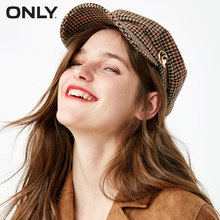 ONLY2018 autumn new suede cat stud artist hat 118386507