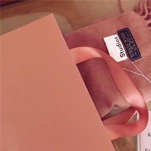 ABOUTZHOU 2016新色 玫瑰粉 焦糖色 全羊毛经典款围巾围巾