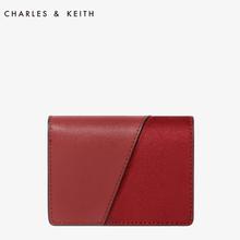 CHARLES / KEITH財布CK6-50700548ファッションヨーロッパとアメリカの風カードパッケージをステッチ