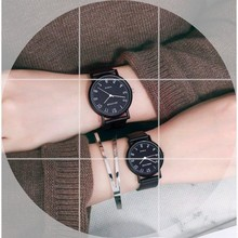Ins watch, male and female student, Han Yuansu style version, trend, retro small and versatile couple