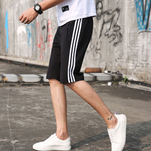 Summer casual sports loose big underpants 7-point shorts