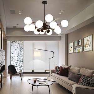 北欧风格吊灯创意魔豆个性后现代简约客厅灯具餐厅卧室房间大厅灯吊灯