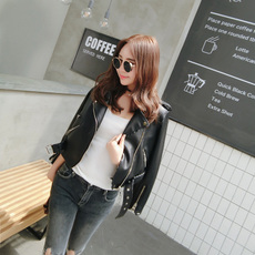 Leather jacket OTHER Ulzzang PU 2017