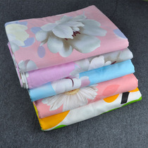 Sheets and old gingham cotton double single list of pink cotton canvas linen sheet sheets Kang