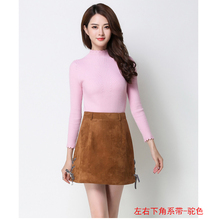Special price loss clearing of deer skin velvet skirt of yanzifang in autumn and winter