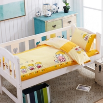 Kindergarten quilts six piece and three piece baby frog Prince full cotton woven childrens spring and fall winter quilt