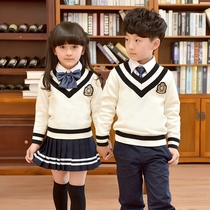 Curly hair boys primary school students for fall winter clothing