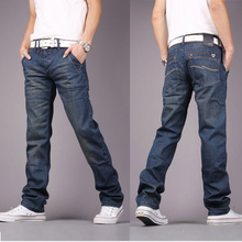 New Korean slim jeans in autumn and winter