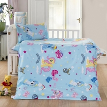 Kindergarten with pure cotton quilt set of 36 small core spring children cartoon bedding a NAP burberr