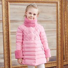 Down jacket toddler Love/production qs1390