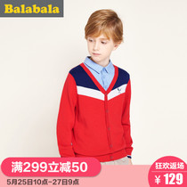 Balla Balla boys children childrens shirt collar knit sweater