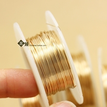 The United States imports 14K gold wire, gold wire, semi rigid flexible wire, jewelry winding, letter accessories, DIY ounces.