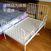 IKEA MINNEN childrens bed designed with retractable child bed solid pine bed Board folding wall-to-wall children bed