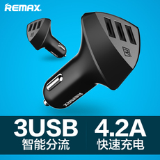 Apple автомобильное ЗУ Remax USB