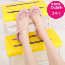 New type of flat soft sole anti slip Baotou cave shoes