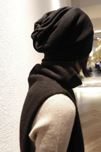 No tide, you go away!!! Italy's high definition yarn, fine wool, pure color hat, men and women, autumn and winter!