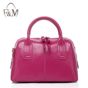 2014 new handbag leather handbag Boston leather pillow pack singles bag jelly package shell bag