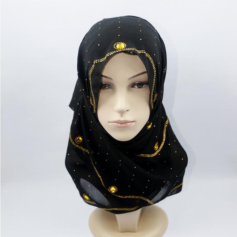 穆斯林女子纱巾的戴法 嘉米拉穆斯林纱巾戴法 穆斯林纱巾戴法的步骤图片