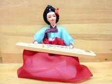 Корейская народная кукла 33cm/H
