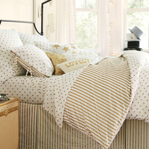 AB PBTEEN* Golden wave Golden stripes full comforter sets can be equipped with four sets of high Joker