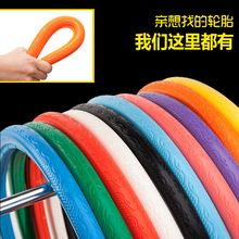 Inside and outside 26 inch inside and outside solid tire of dead flying bicycle 700X23C reverse brake tire accessories