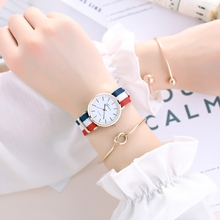 2019 New Watch Female Student Ms. insfeng Korean Edition Fashion Simple Temperament Waterproof Watches
