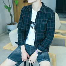 Autumn Plaid trend loose casual inch clothes