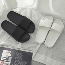 Women in the summer of 2018 the new household slippers antiskid wear fashionable home indoor outside cool slippers in the bathroom couples men
