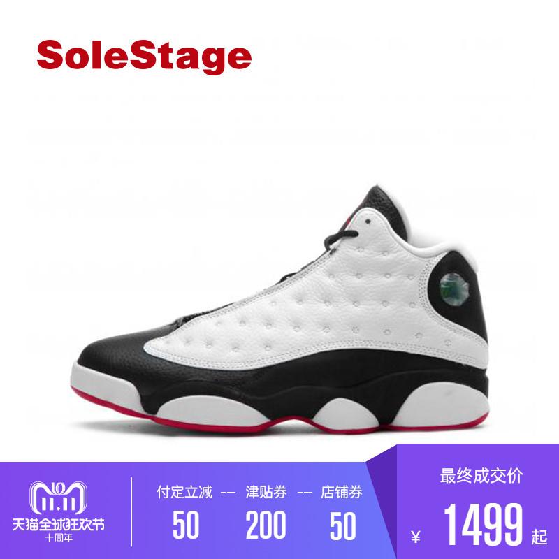 112be7a00f5 【預售】Air Jordan 13 AJ13熊貓黑白男女復刻休閒刷街籃球鞋