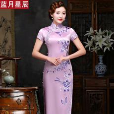 Платье Ципао Lanyuexingchen ly00582 2017
