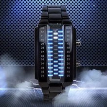 CF watches crossing the line of fire, electronic shadow dance, two generation watches, CF shopping mall watches, male students quartz watch