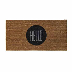 Sort Bloomingville Doormat Hello