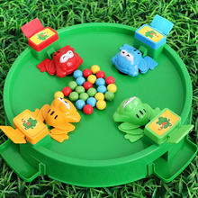 Shake the same kind of children toy frog eat beans puzzle boy eat beans ball girl parent-child interactive game 6 years old 3