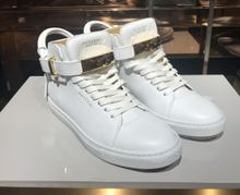 BUSCEMI authentic white skin lock all unique design style with low help shoes 1007 sp14-100 - mm