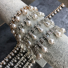 Dai Xi imitates pearl a drill to decorate chain, clothes, hats and shoes, hair ornaments, wedding dresses, dolls, accessories and accessories
